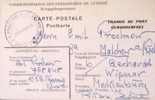 prisonniers de guerre allemands en france camp n°10