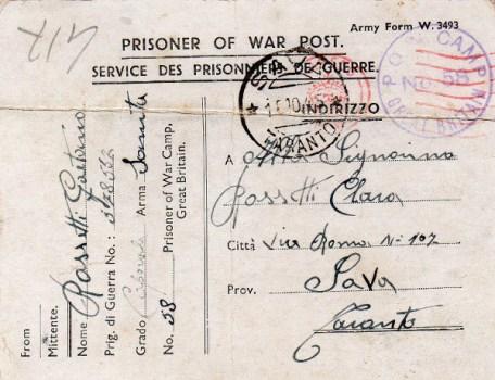 prisonniers de guerre au RU camp n° 58