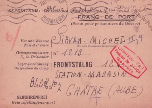 prisonniers de guerre front stalag 124