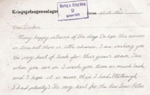 prisonniers de guerre marlag 21 12 1941