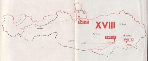 carte de la 18e région