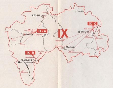 carte de la 9e région