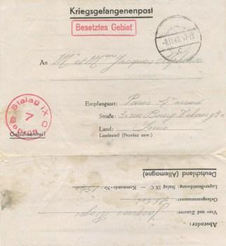 08 11 1940 stalag IX C