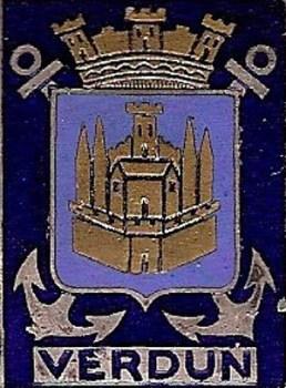 blason du contre torpilleur Verdun