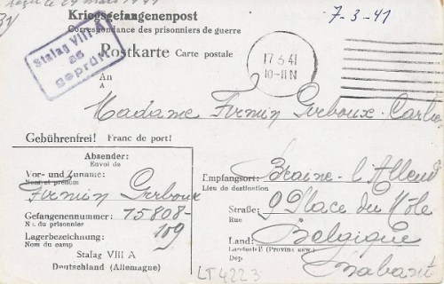 17 03 1941 stalag VIII A