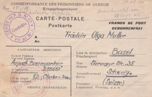 prisonniers de guerre allemands en france camp n°82