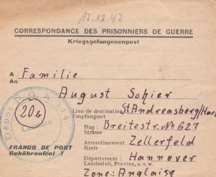 prisonniers de guerre allemands en france camp n°114