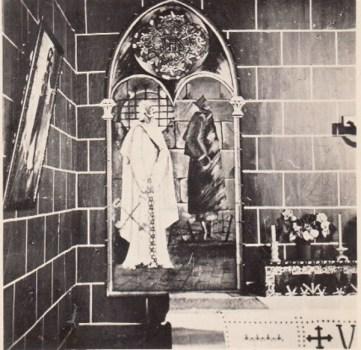 fresque de la chapelle du kommando 844/7 du stalag XI A