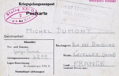 09 08 1942 stalag XXI D