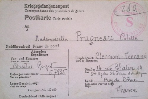 (1.2.1941-11.7.1941) Stalag 325 feldpost 08499