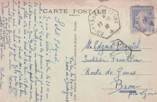 27 10 1930 cuirassé le Bretagne