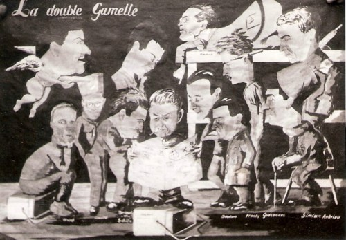 rédaction du journal la double gamelle au stalag III A