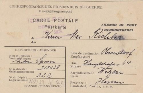 prisonniers de guerre allemands camp n°222