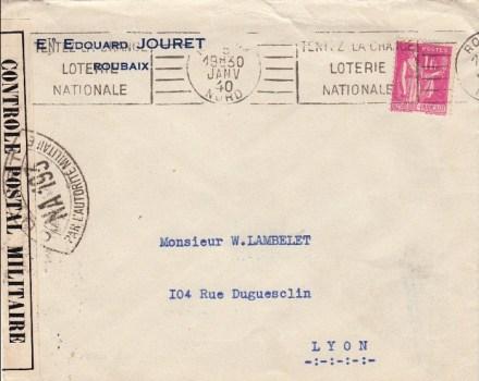 controle postal NA 193