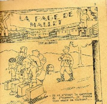 caricature prisonnier de guerre