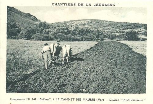 carte des chantiers de jeunesse n°46