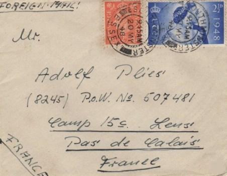 prisonniers de guerre allemands en-France camp n°15