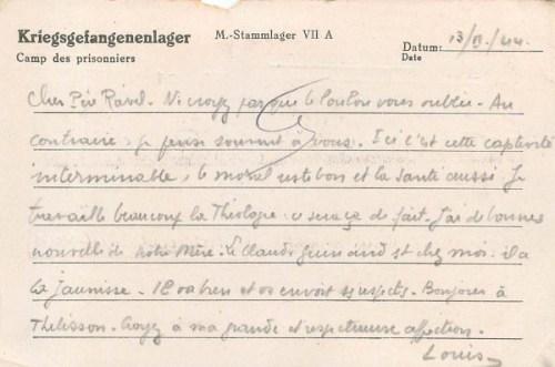 13 08 1944 stalag VIIA