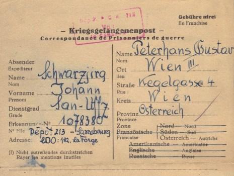 prisonniers de guerre allemands en France camp n°182
