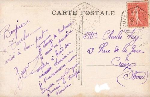 18 11 1927 le cuirassé Le Bretagne