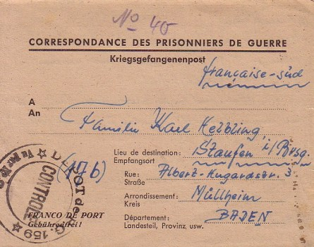 prisonniers de guerre allemands en france camp n°159