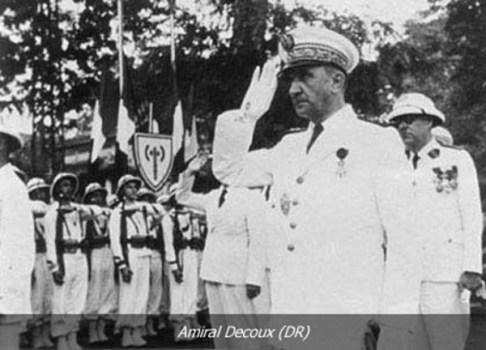 l'amiral decoux représentant de Vichy