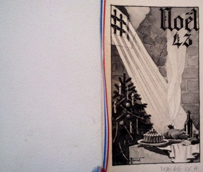 menu de noel 1943 au stalag IX A