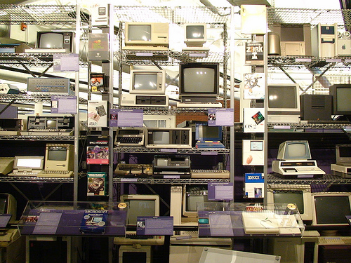 The Computer History museum in Mountain View, California. Credit: David Glover