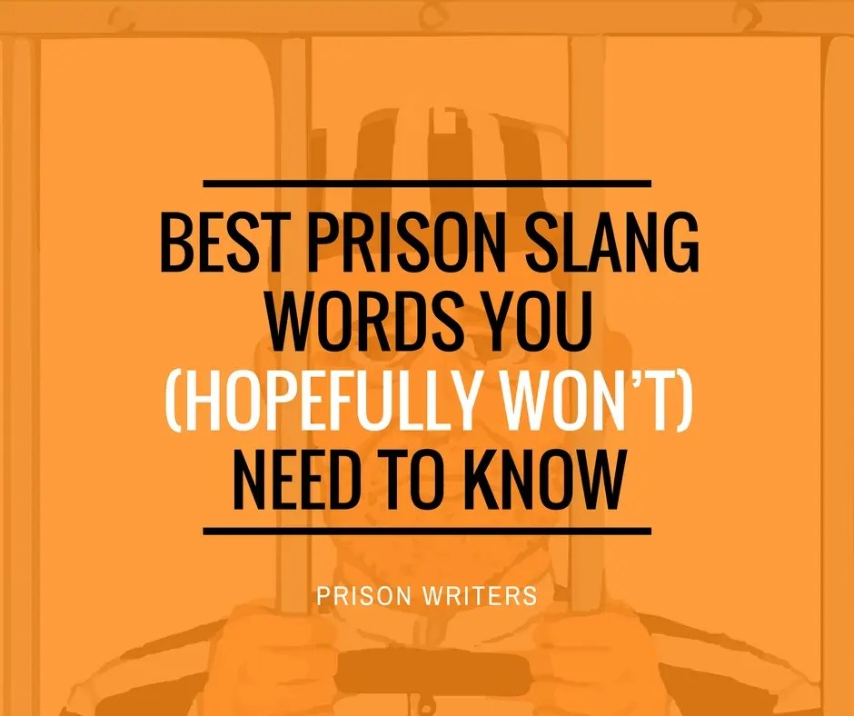 Best Prison Slang Words You (Hopefully Won't) Need To Know