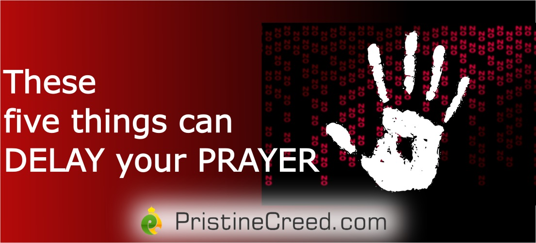 these five things could hinder prayer