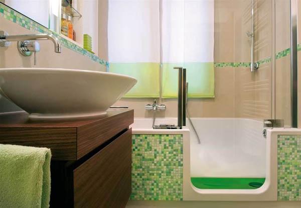 Как сделать ремонт в маленькой ванной своими руками - фото ...