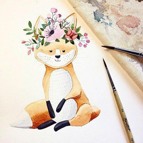Простые картинки для срисовки - прикольные, красивые, классные