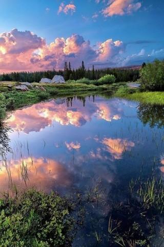 Красивые картинки природы на телефон обои - скачать ...
