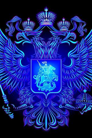 Красивые картинки, обои на телефон Герб России на заставку ...