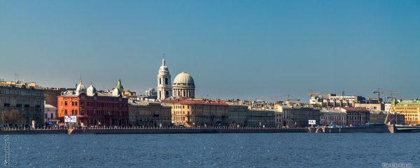 Красивые и необычные панорамные фотографии Санкт-Петербурга