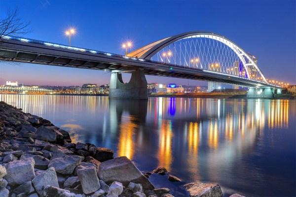 Мост через реку - красивые и удивительные картинки, фото