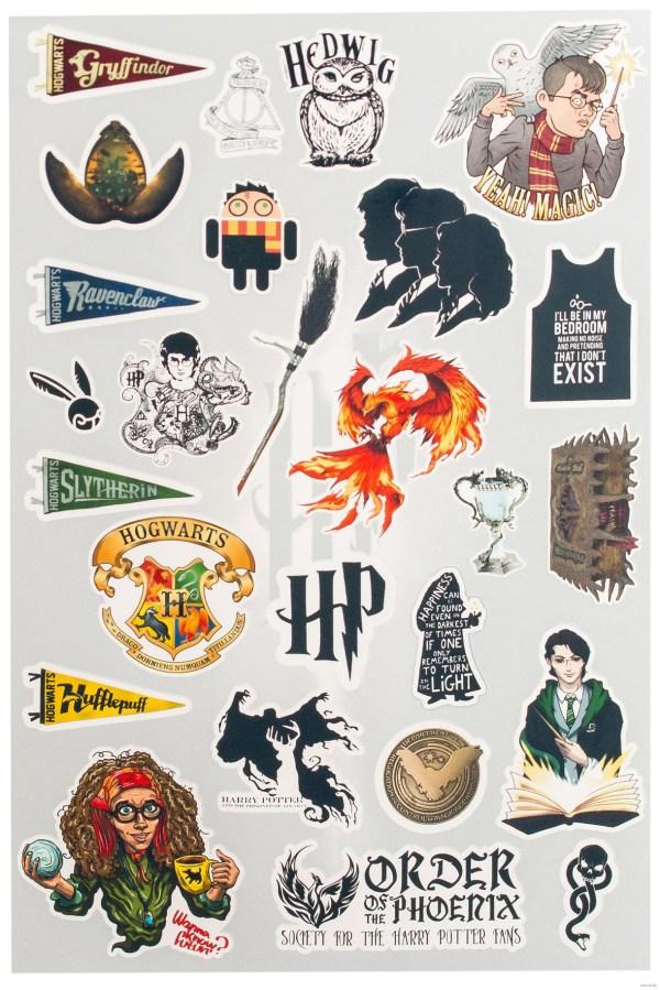 Красивые стикеры и наклейки Гарри Поттер - коллекция 46 ...