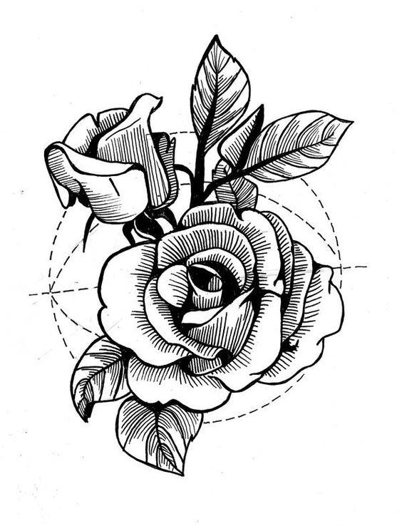 Скачать картинки для срисовки тату и татуировки - подборка