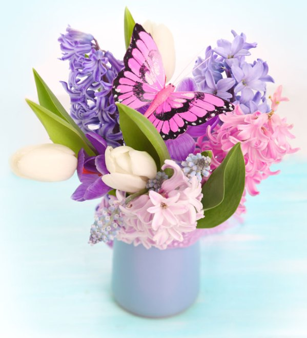Весенний букет цветов - красивые 20 фото и картинок