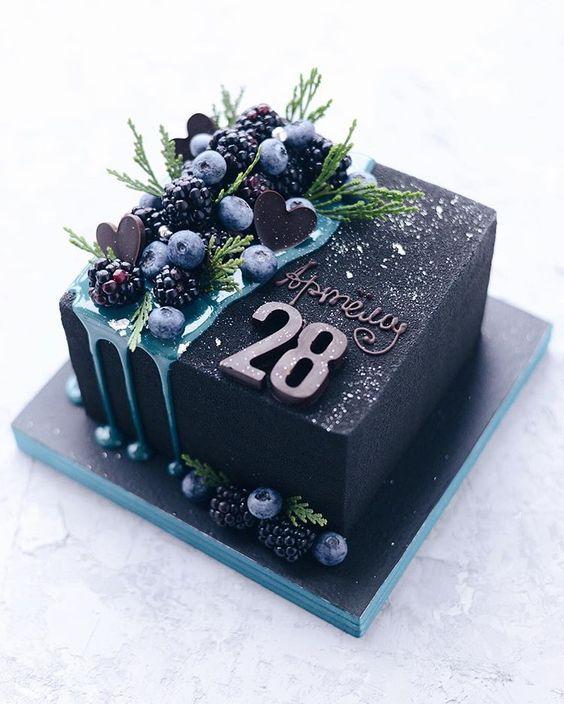 Торт на День Рождения мужчине 45 лет - оригинальные фото ...