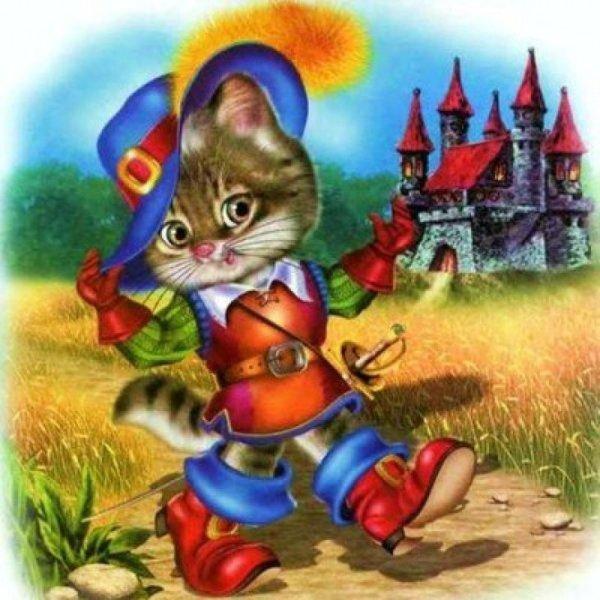 Картинки сказочного кота