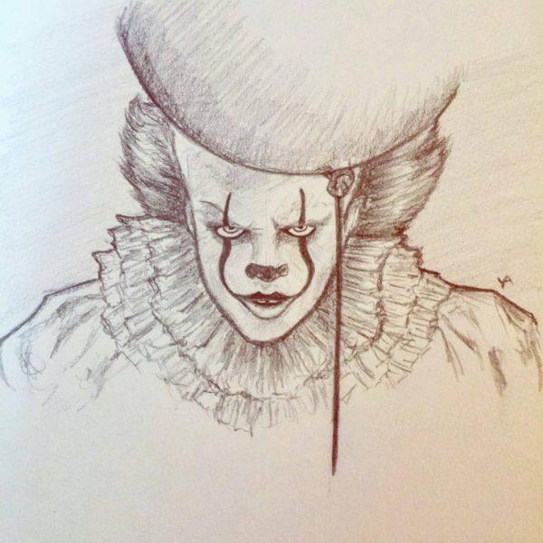 Страшные рисунки карандашом - подборка