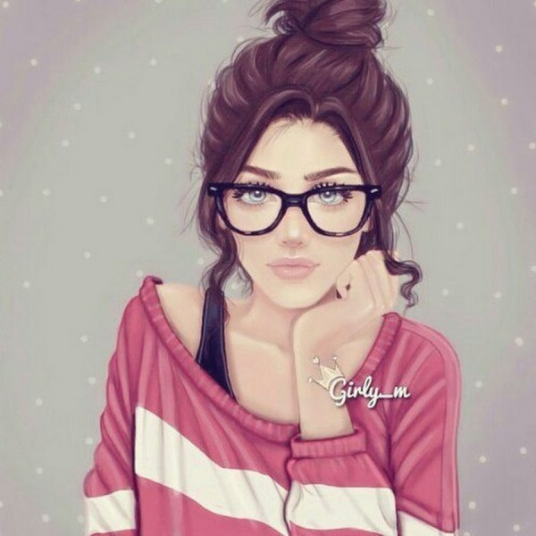 Картинки на аву в ВК для девушек крутые и нарисованные