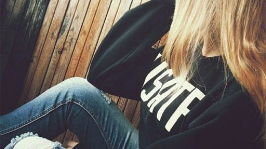 Красивое фото на аватарку для девушек блондинок