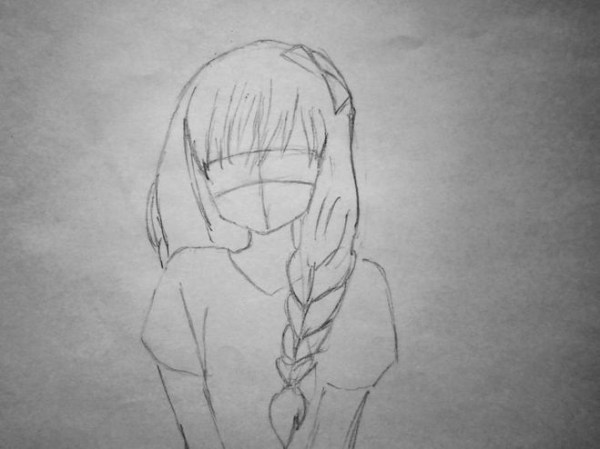 Картинки для срисовки поэтапно аниме