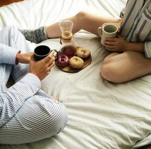 Удивительные фото с любимой в постели