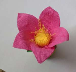 paper lotus flower