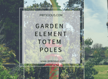 gardening element totem poles