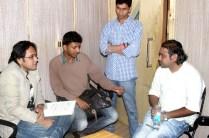 Pritish_Chakraborty_Rashid_Khan_Discussing_Lyrics_Of_Song