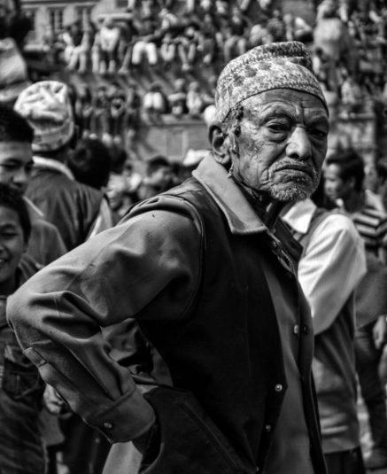 portrait bhaktapur nepal